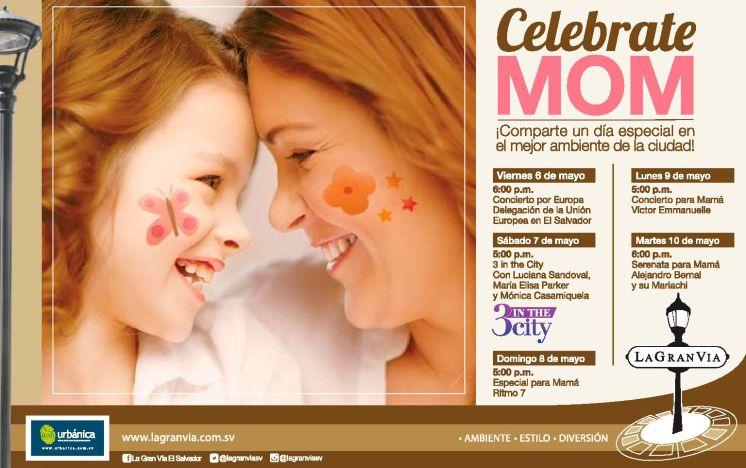 La Gran Via eventos dia de la madre 2016