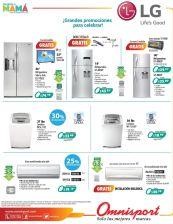 MAS electrodomesticos en promocion gracias a OMNISPORT