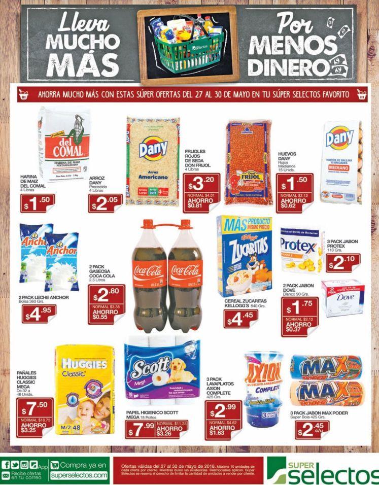 Ofertas del dia en tus productos Super Selectos - 27may16