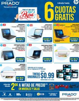PRADO 5 promociones ideales para regalar laptop nueva a PAPA