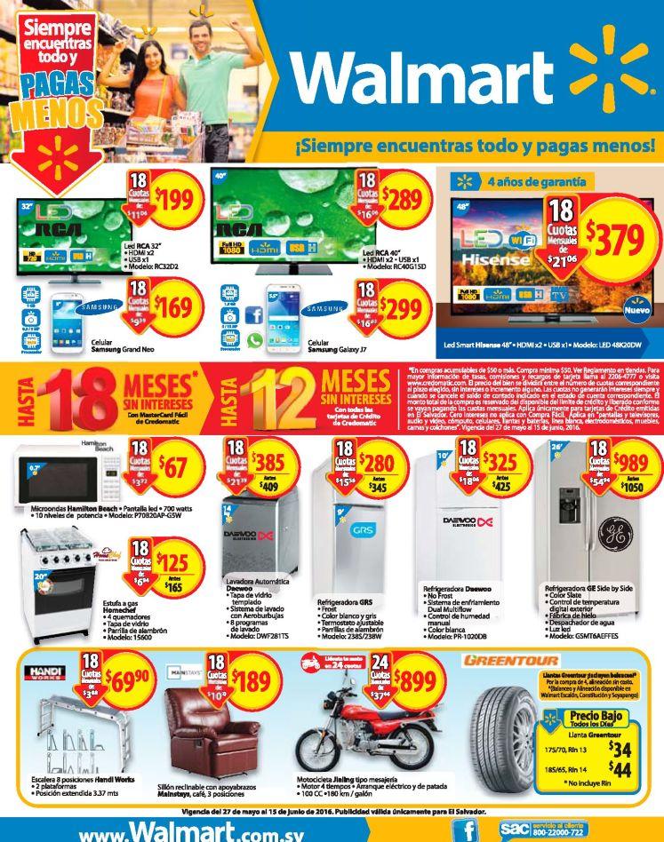 Paga menos en almacenes WALMART sv - 27may16