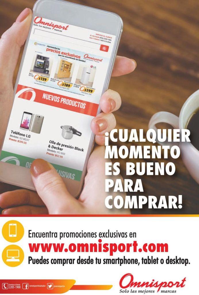 Promociones exclusivas en tu tienda online omnisport el salvador