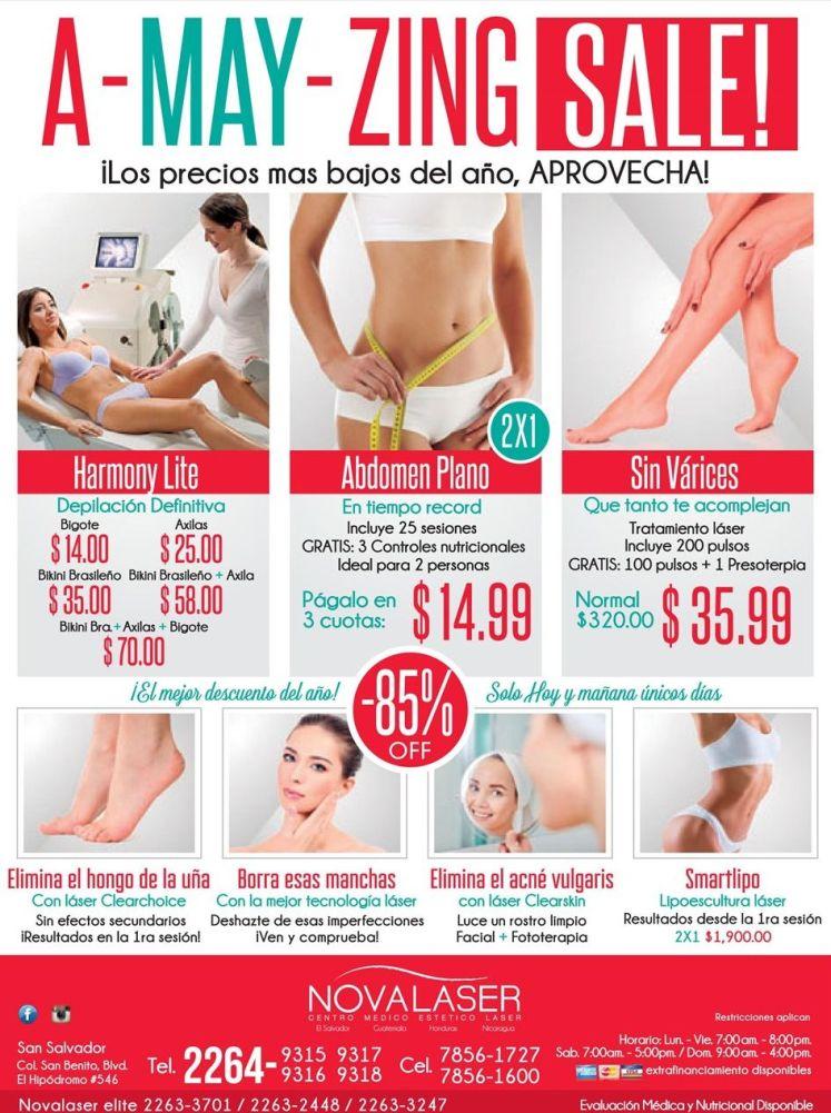 SALE for women beauty treatments