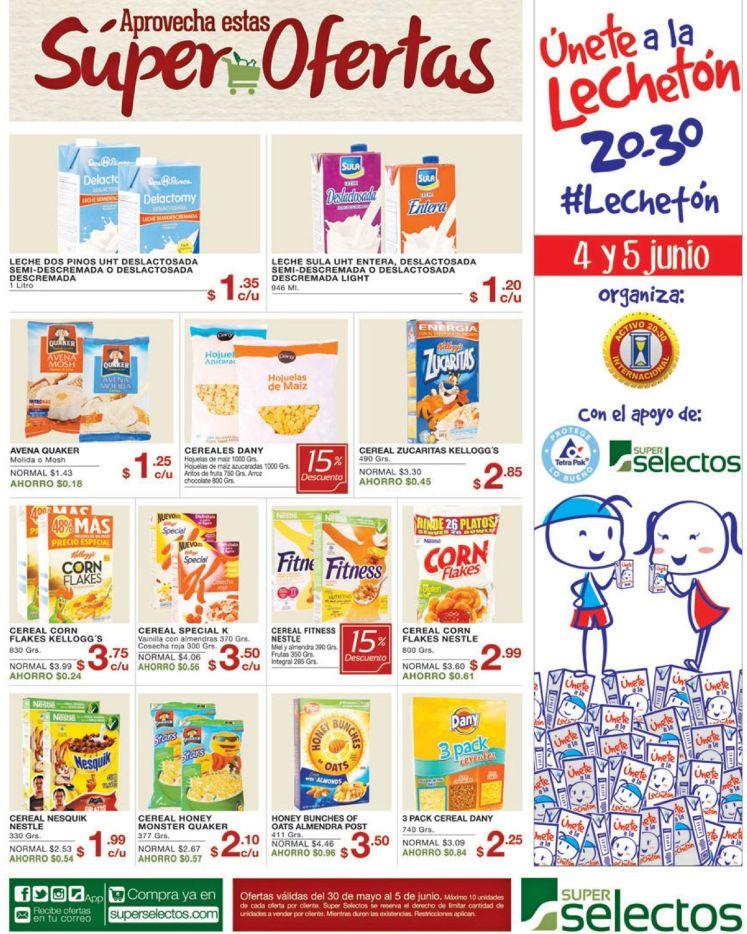 Super ofertas en cereales para toda tu familia - 30may16