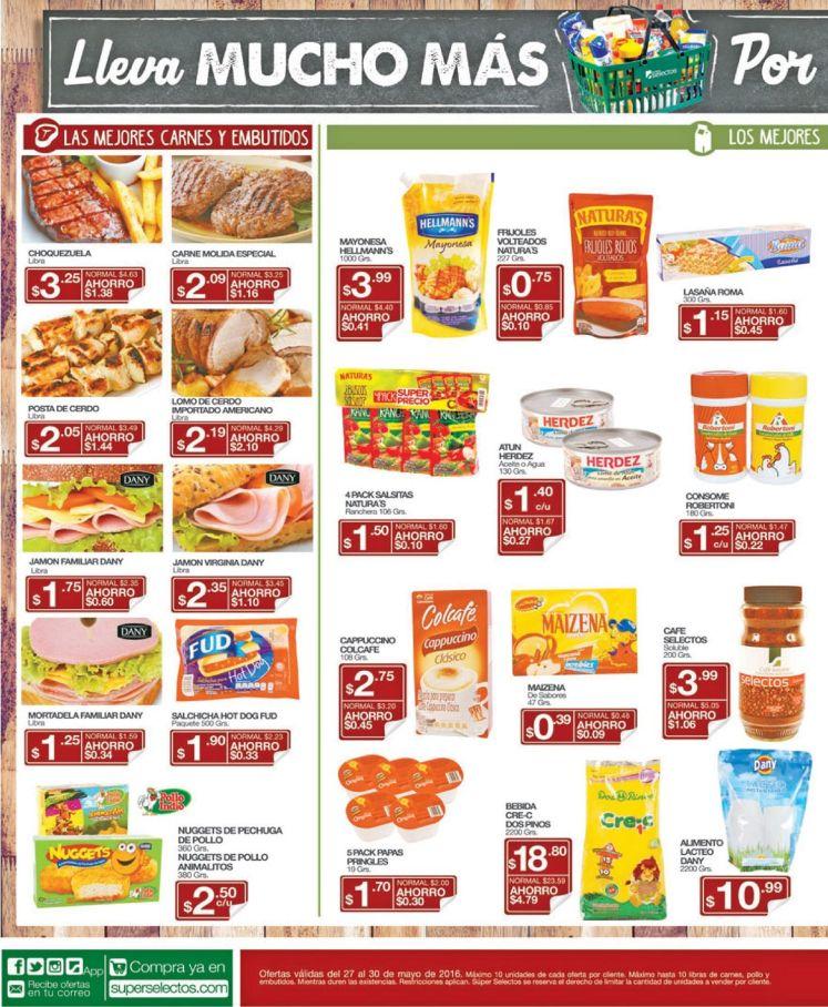 Super ofertas selectos de hoy viernes - 27may16