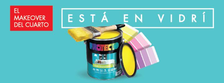 VIDRI MAKEOVER para tu dormitorio con pinturas protecto