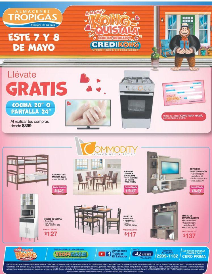 promociones en muebles para mama en almacenes tropigas - 07may16