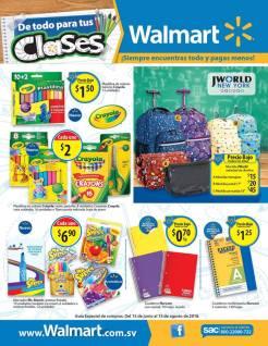 Back to school WALMART scholarship deals