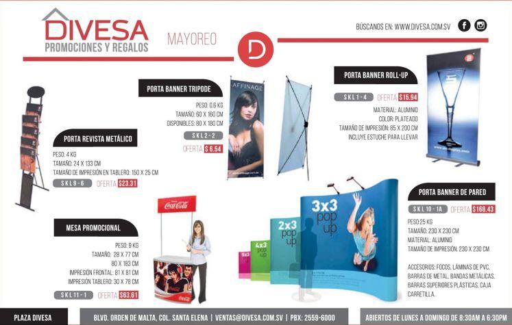 DIVESA productos para negocios maketing y eventos