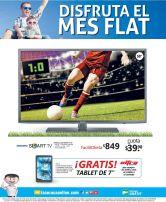 Disfruta este mes de futbol en una nueva pantalla FLAT