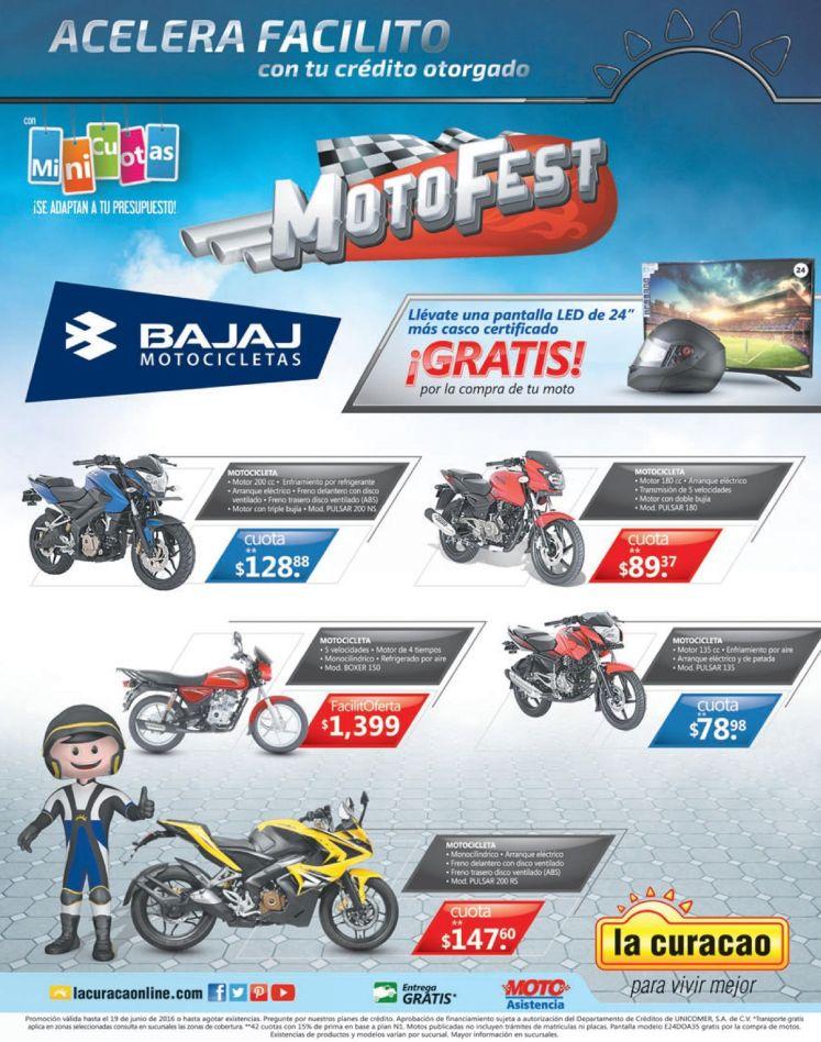 En Junio MOTO FEST acelera facilito con tu motocicleta nueva