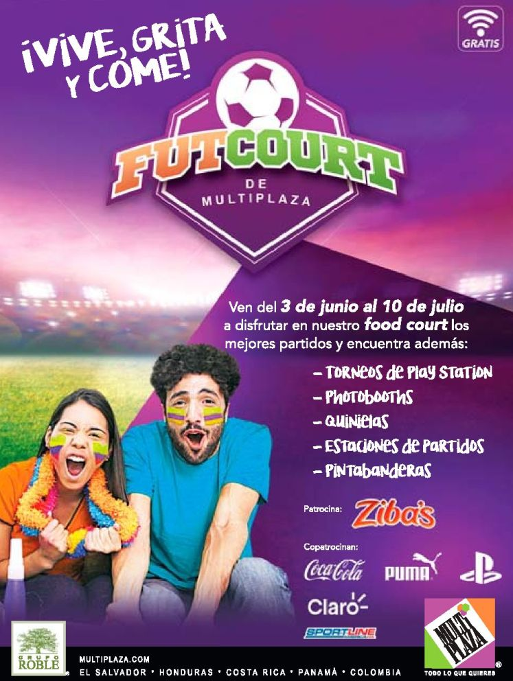 FUT COURT eventos concursos video games MULTIPLAZA - 03jun16