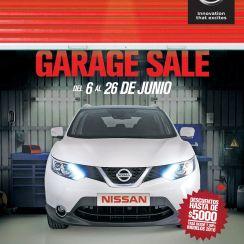 GARAGE SALE promociones para tu auto de agencia Nissan