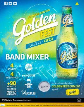 GOLDEN gest first edition 2016 BAND MIXER music