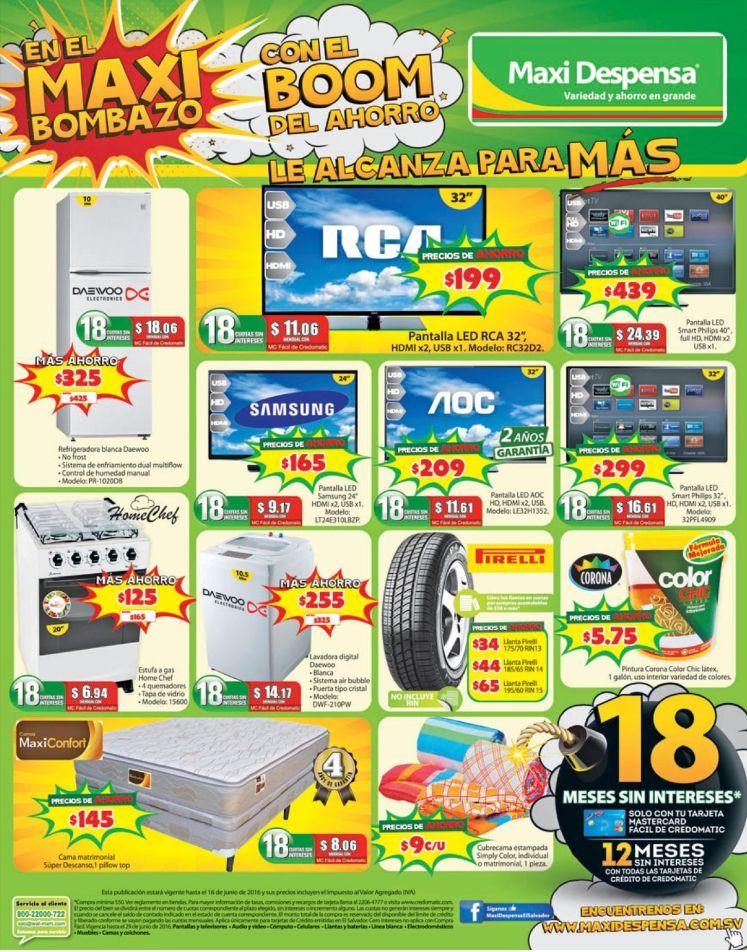 MAXI Despensa ofertas de todo un almacen - 10jun16
