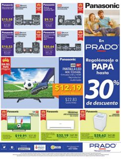 PRADO promocione en audio video en el dia del padre 2016
