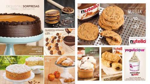 Panaderia SAN MARTIN especialidades con nutella