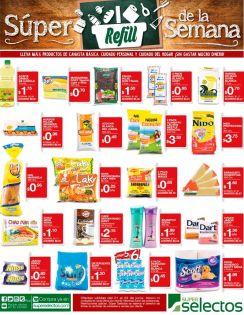 SUPER refil de la semana con ofertas selectos - 21jun16