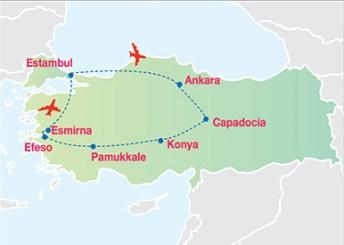 circuitos mas populares para viajar a turquia