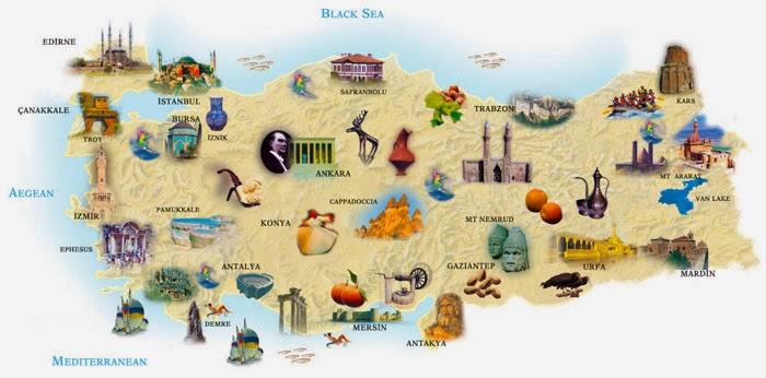 destinos turisticos de turquia