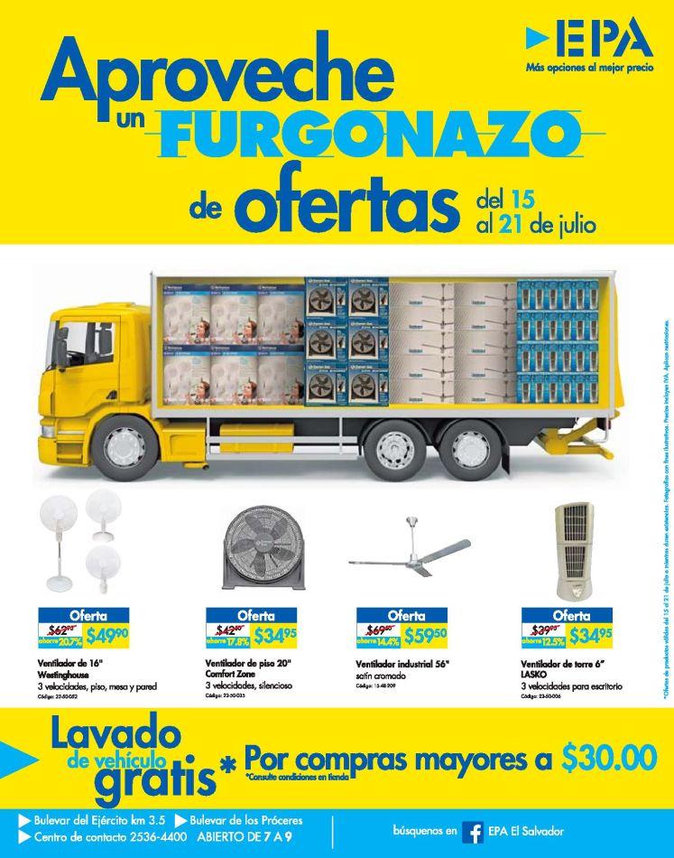 ATENCION amigos aprovechen la semana de ofertas FURGONAZO EPA