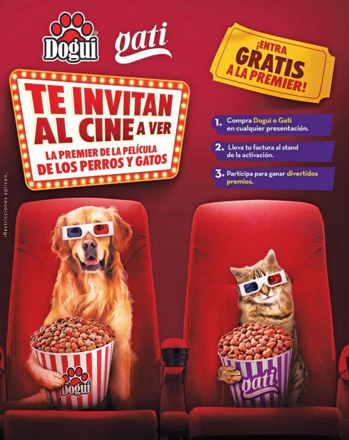 Dogui and Gati PET food te invitan al cine