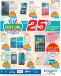 Festival de celulares en almacenes PRADO el salvador - julio 2016