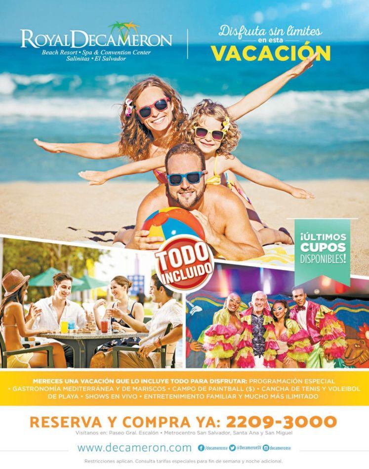 HOTELES all inclusive el salvador beach resort