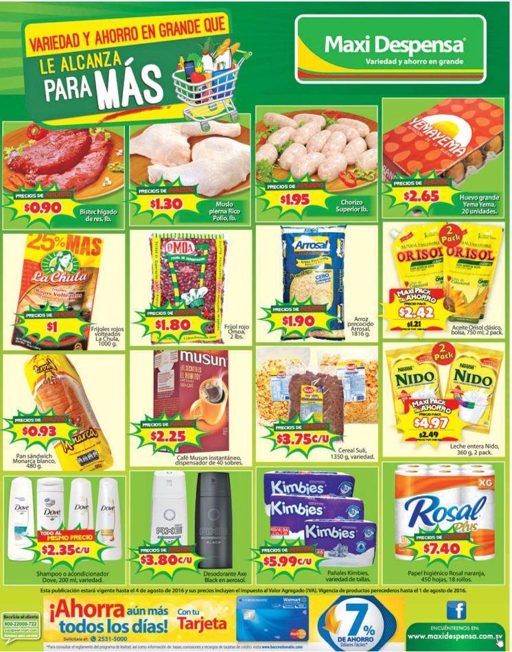 MAXI DESPENSA conoce las promociones agostinas 2016