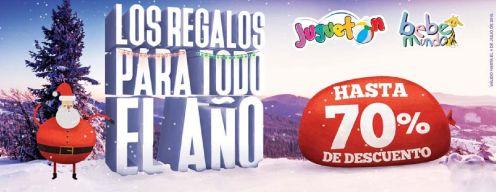 OJO regalos y juguetes JUGUETON y BEBE MUNDO con 70 off