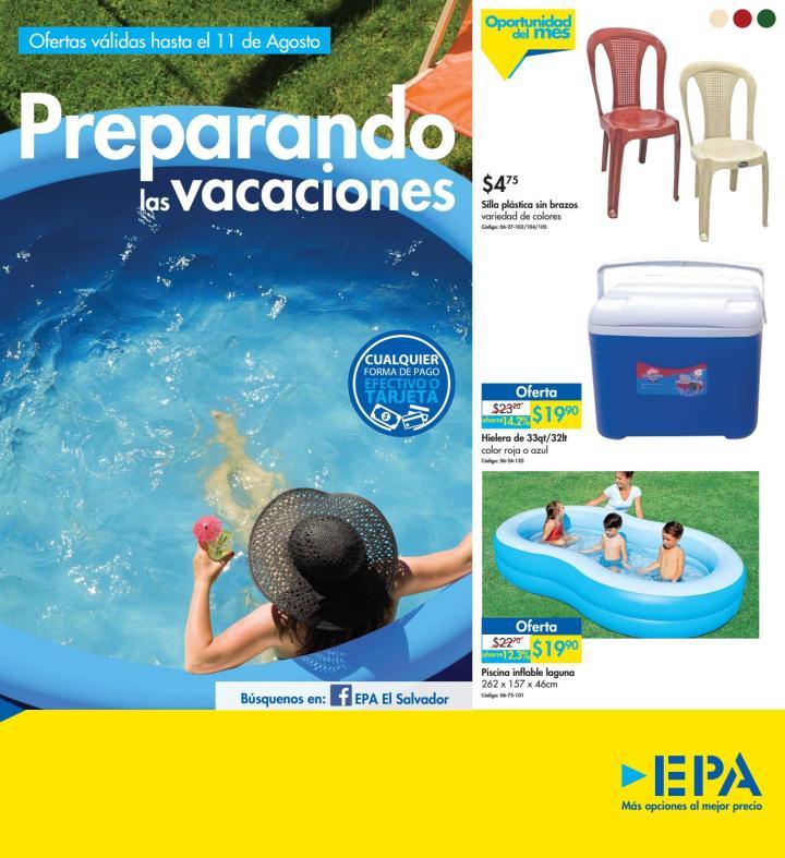 Preparando las vacaciones de agosto 2016 con EPA