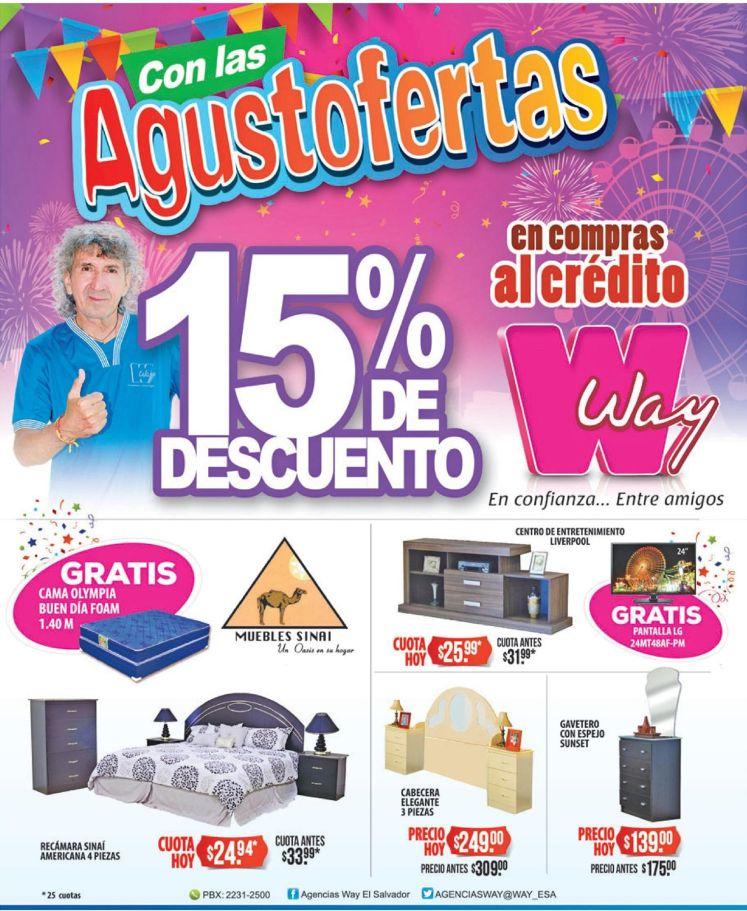 Promociones AGOSTO 2016 ofertas magico gonzalez de WAY
