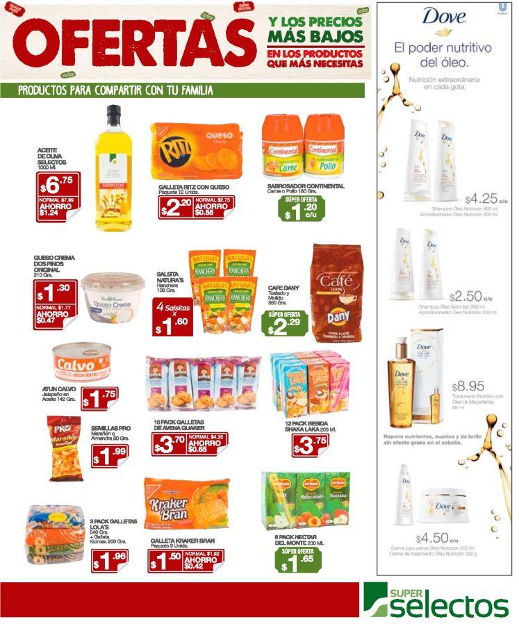 Promociones en productos DOVE poder nutritivo del oleo