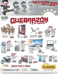 Quebrazon de precios con descuentos hasta 35 off en LA CURACAO - Julio 2016