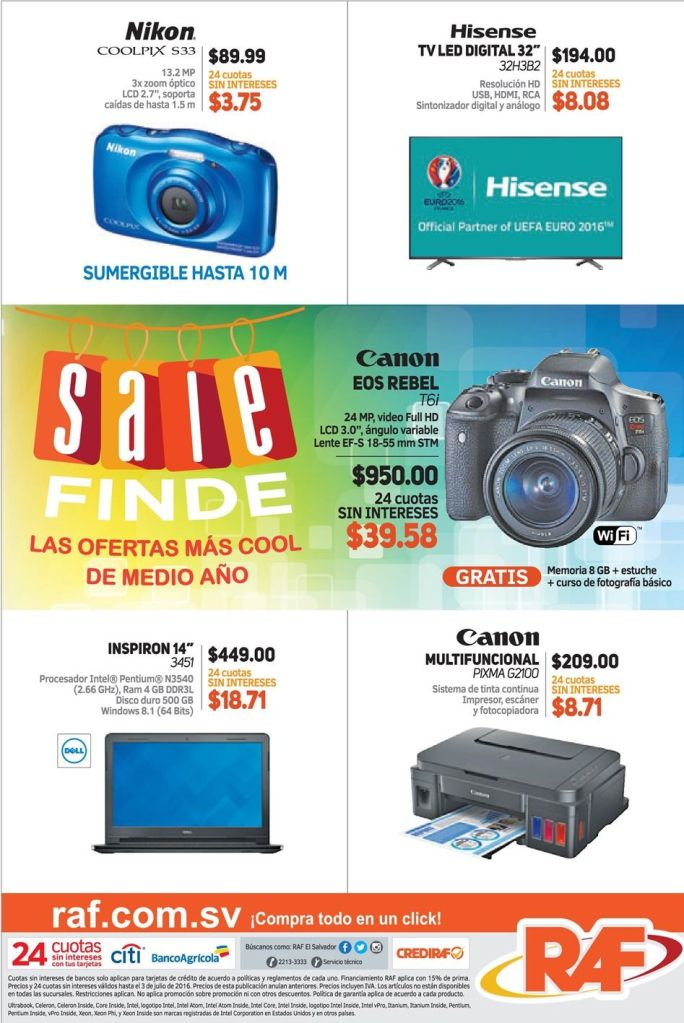 SALe weekend deals offers cool midle year