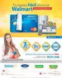 Aprovecha los beneficios de la MASTERCARD walmart facil