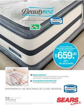 CAMAS premium sealy rest clase mundial