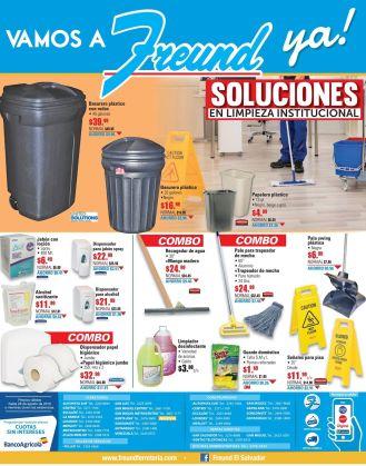 HOgares y oficinas limpias con estos productos FREUND