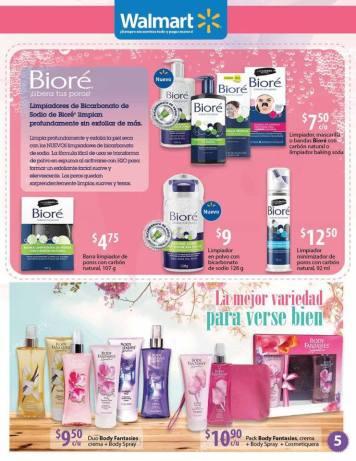 Limpiadores de bicarbonato de sodio BIORE para liberacion de tus poros