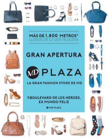 Nueva tienda MD el salvador gran apertura MD plaza STORE ex mundo feliz
