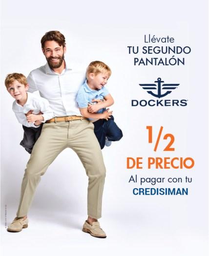 Pantalones DOCKERS a mitad de precio en SIMAN - 18ago16