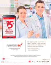 Recuerda todo agosto 2016 15 off en farmacias value y credomatic