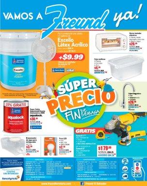 SUPER precios de fin de semana en ferreteria FREUND elsalvador