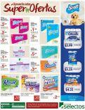 TODAS las marcas de papel higienico rebajados en el selectos