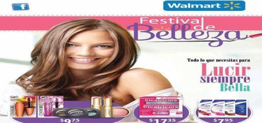 catalogo de belleza WALMART el salvador agosto 2016