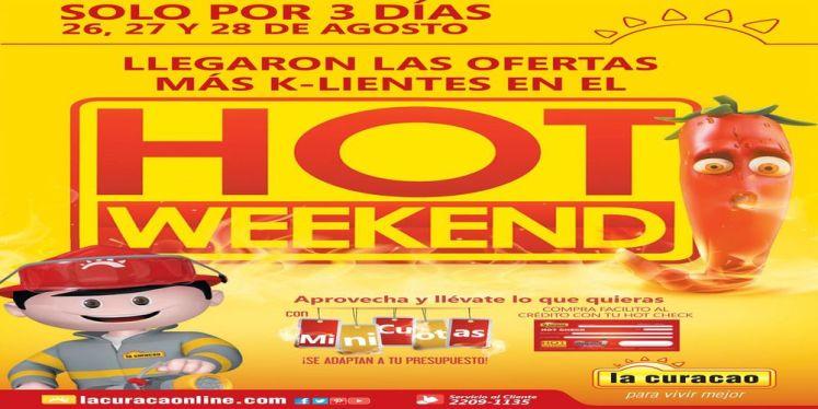promociones hot weekend 2016 la curacao el salvador