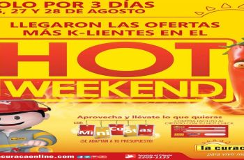 promociones hot weekend 2016 la curacao el salvador