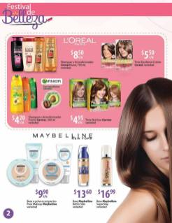 walmart Productos MAYBELLINE from new york and LOREAL from paris
