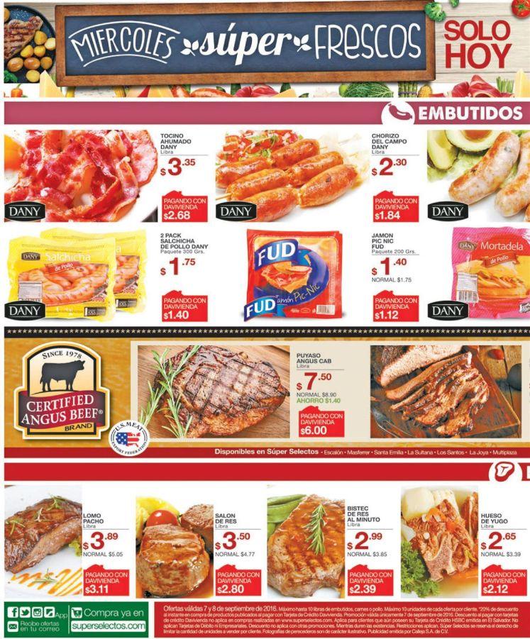 Carnes rojas y blancas con calidad internacional super selectos - 07sep16