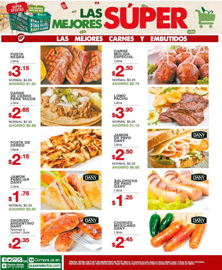 La mejores ofertas del selecto en carnes y embutidos